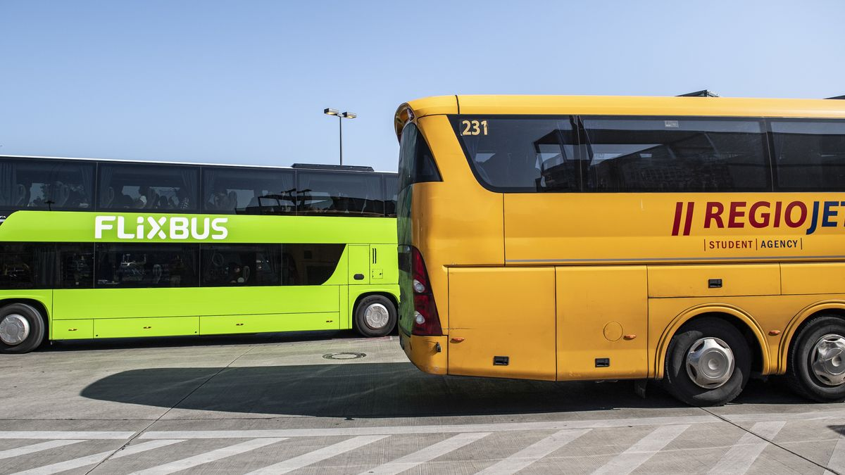 Symbolbild von Fernbussen
