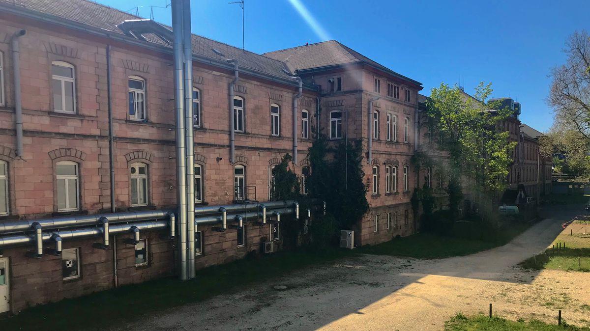 Der Patientenbau der früheren Heil- und Pflegeanstalt in Erlangen