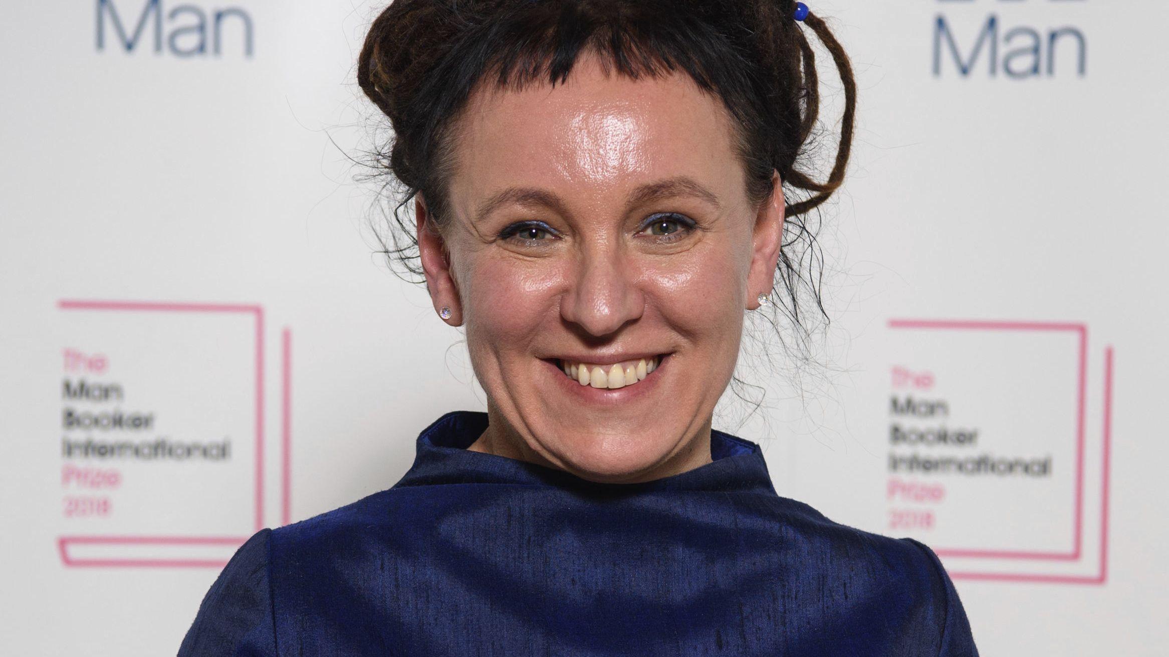Die Literaturnobelpreisträgerin 2018 Olga Tokarczuk