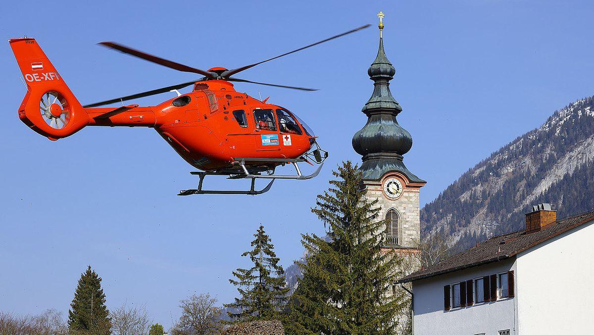 BRK-Einsatz am 24.04.2021 in Bayerisch Gmain.