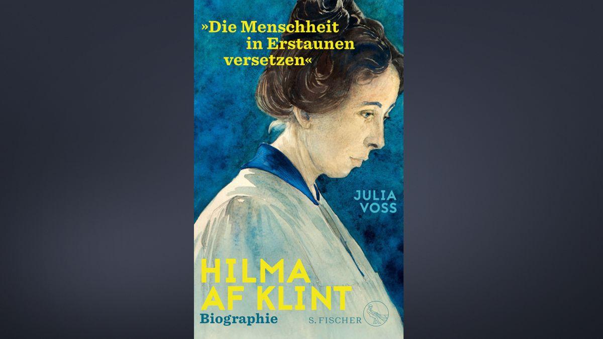 Cover der Biografie der Malerin Hilma af Klint, auf dem af Klint seitlich im Porträt zu sehen ist