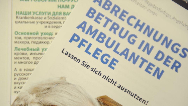 """Broschüre """"Abrechnungsbetrug"""""""
