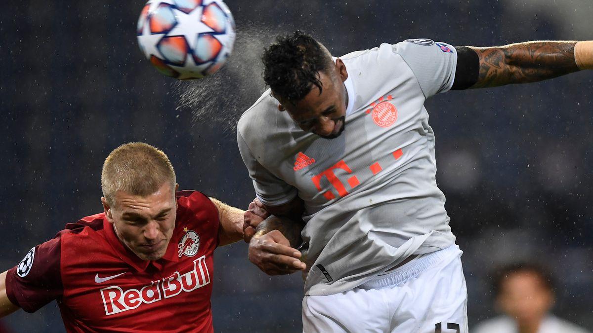 Spielszene RB Salzburg - FC Bayern München