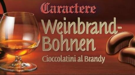 Warnung vor dem Verzehr einer bestimmten Charge von Weinbrandbohnen