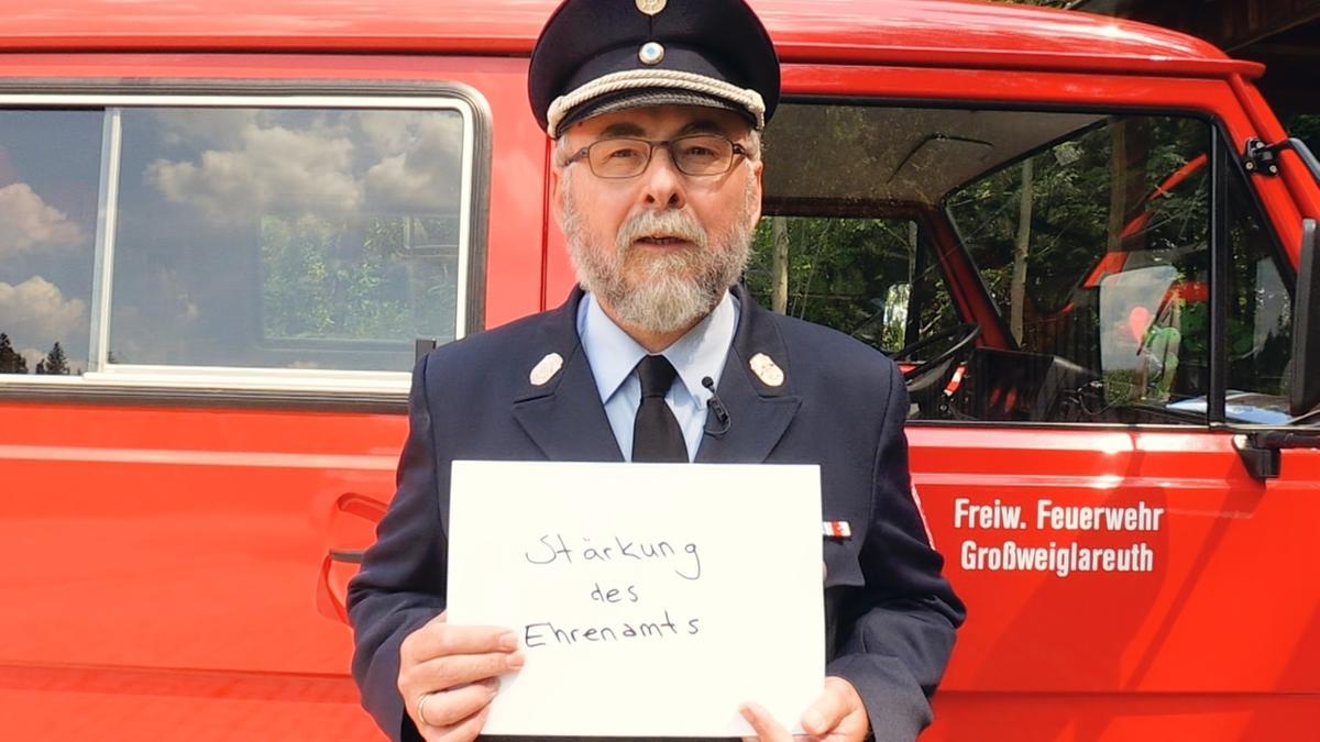 Gerhard Eichmüller, Feuerwehrkommandant