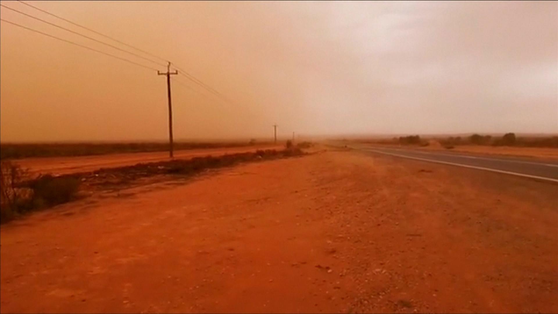 Sandsturm in Australien