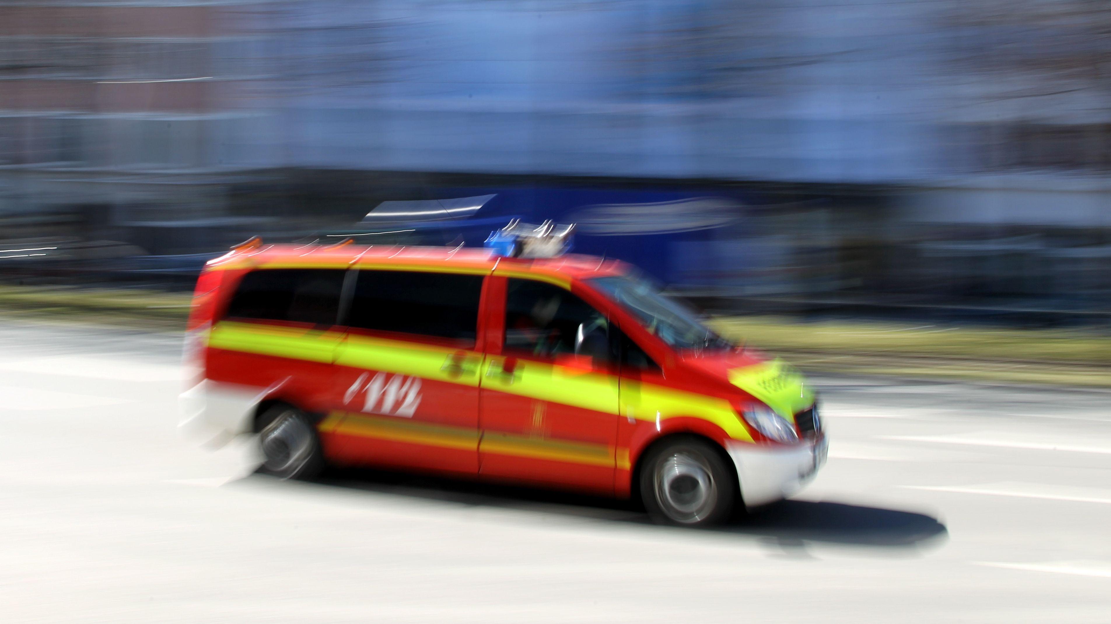 Symbolbild: Einsatzleitfahrzeug der Berufsfeuerwehr München