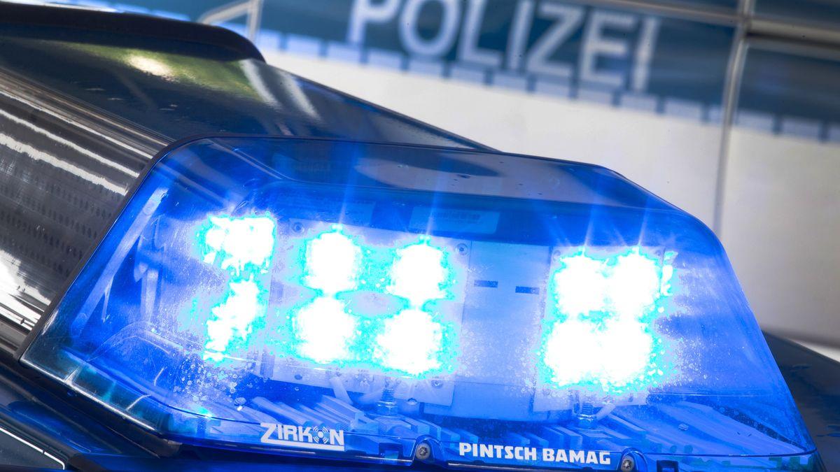 Polizeiblaulicht (Symbolfoto)