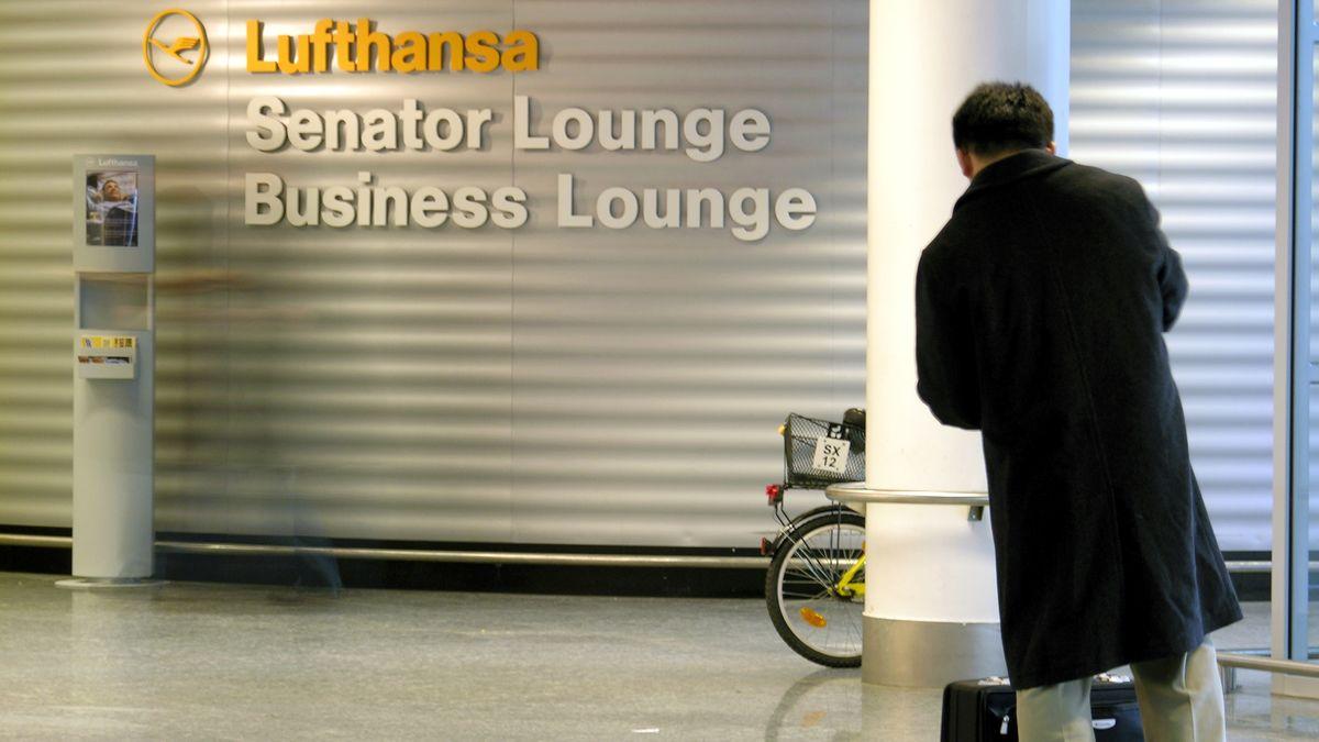 Senator Lounge der Lufthansa