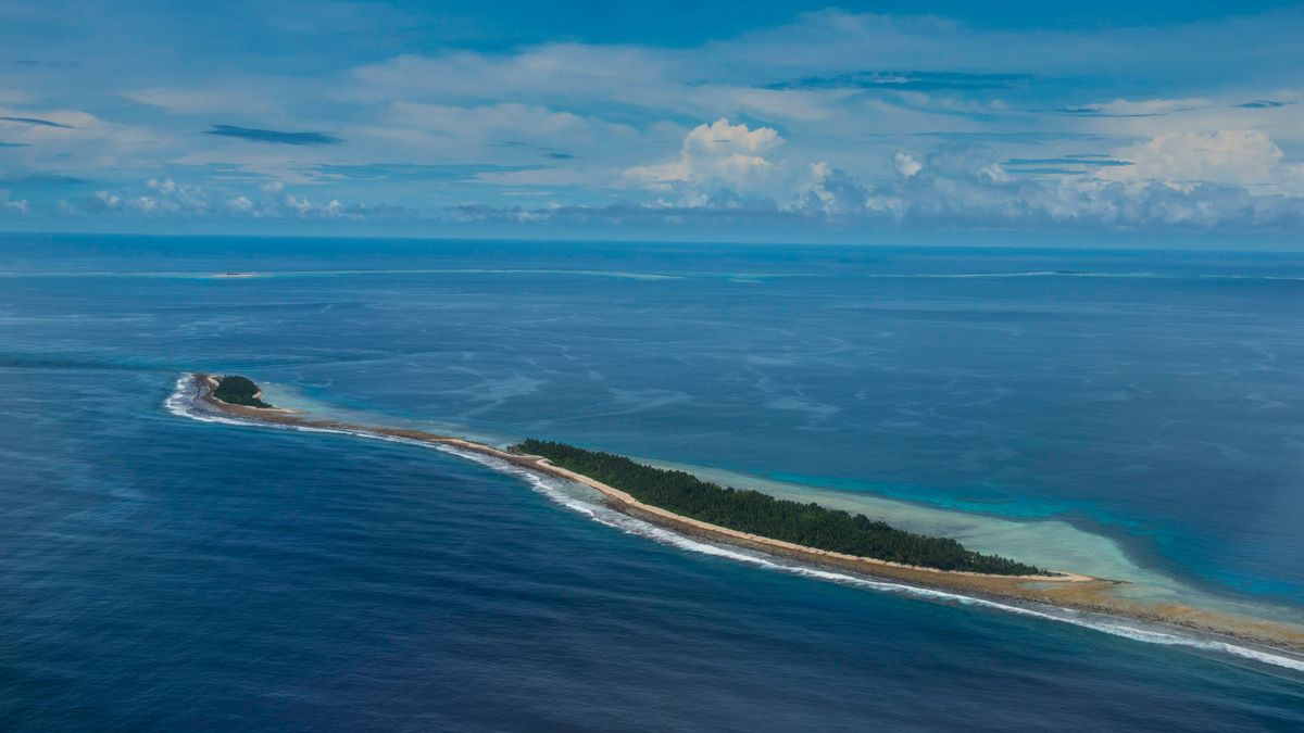 Tuvalu im Südpazifik