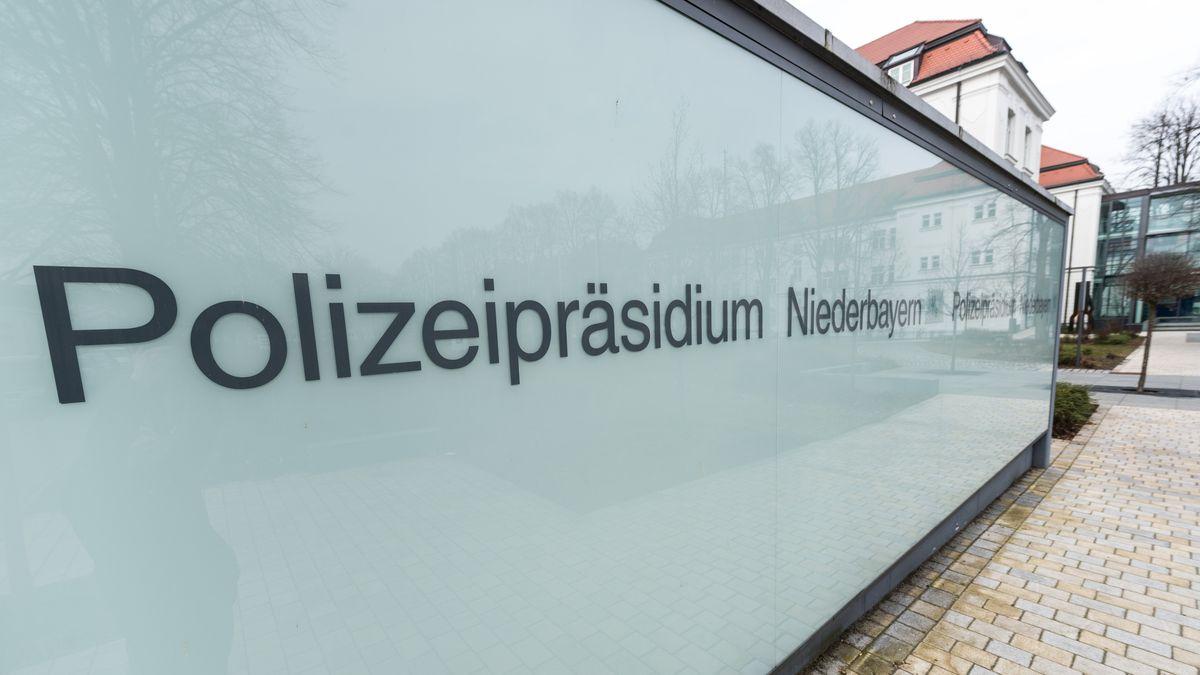 Das Polizeipräsidium Niederbayern in Straubing
