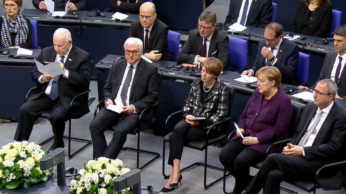 Gedenken an Befreiung des Vernichtungslagers Auschwitz