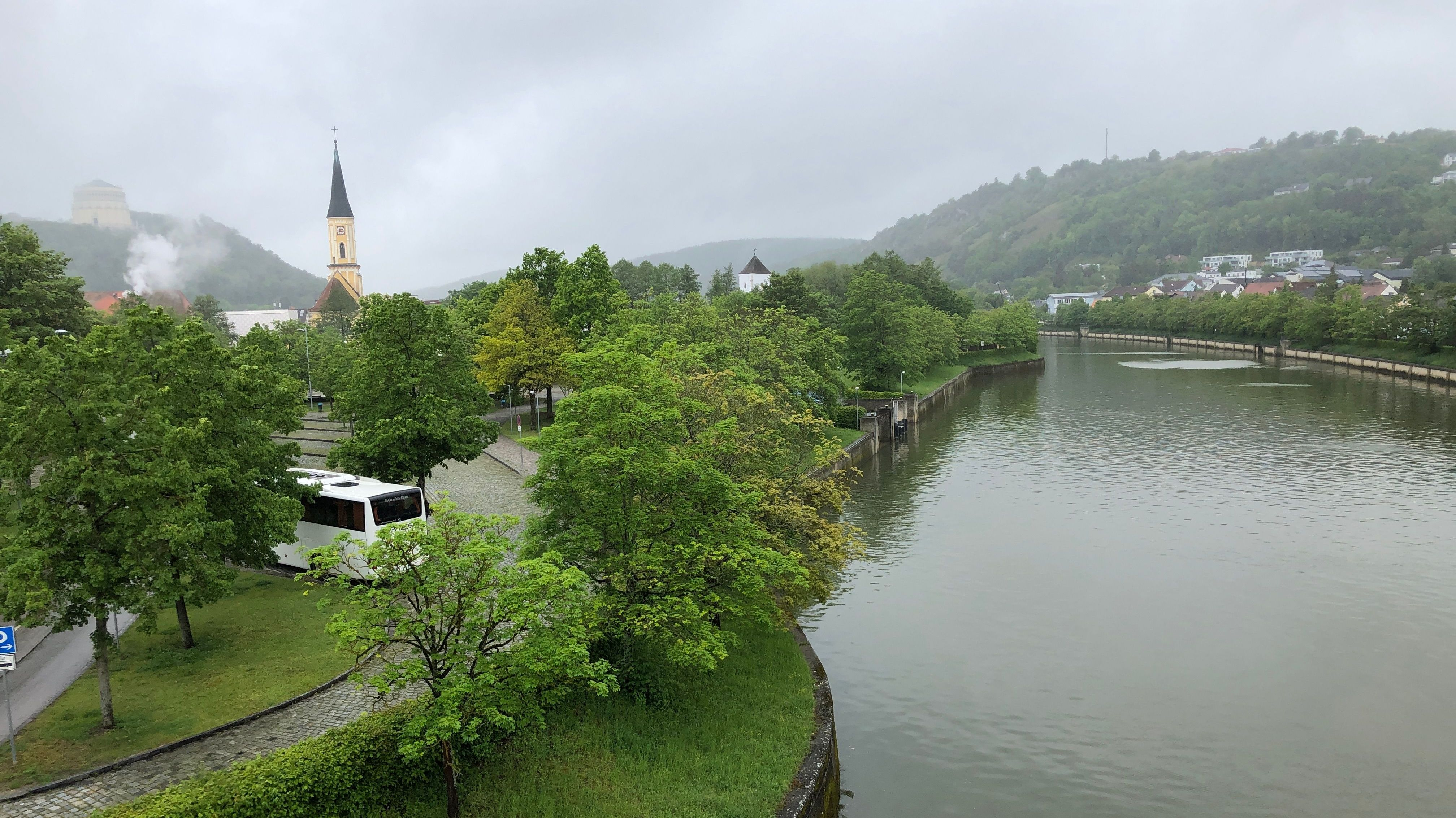 Rhein-Main-Donau-Kanal bei Kelheim