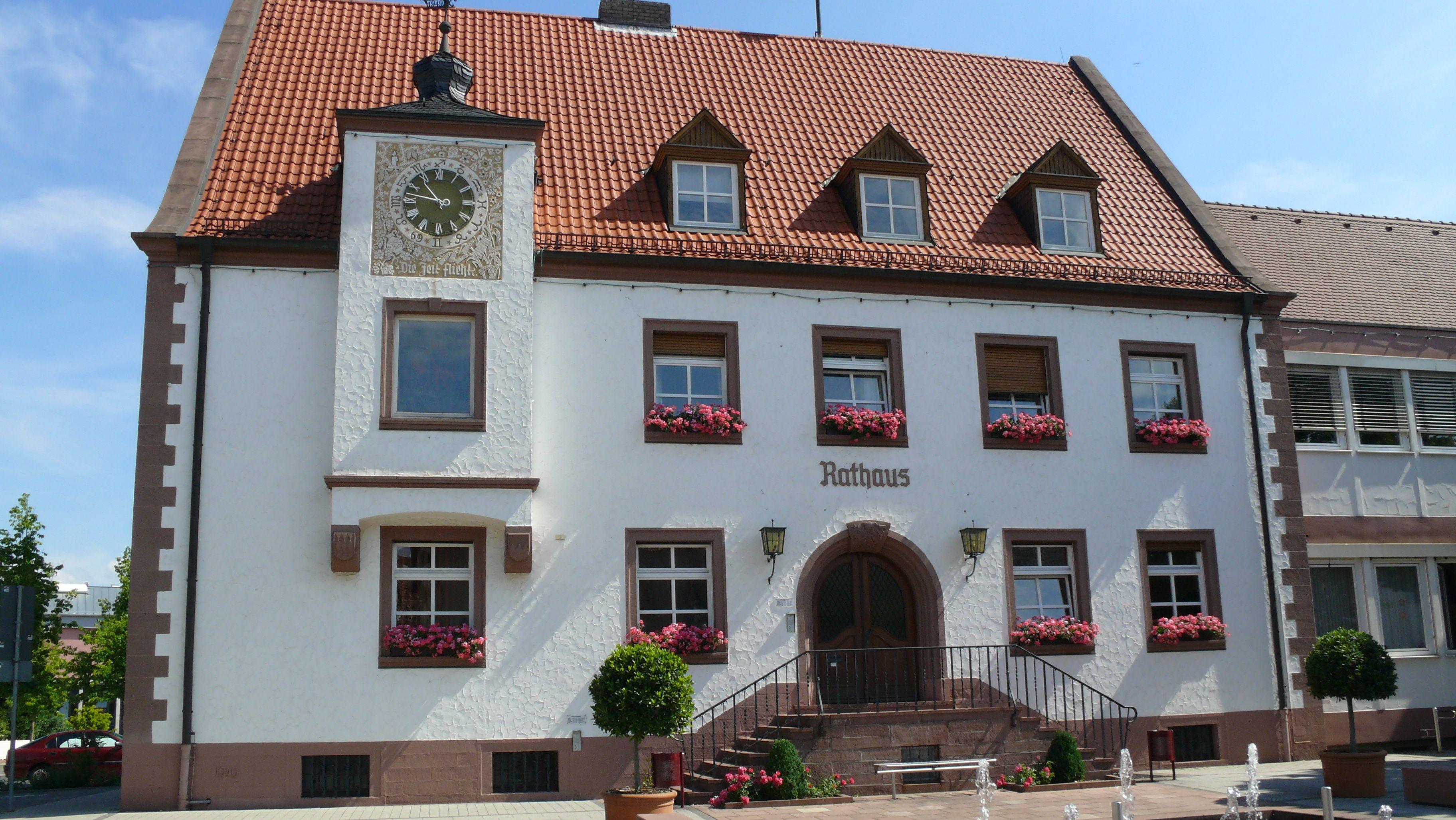 Rathaus von Erlenbach am Main