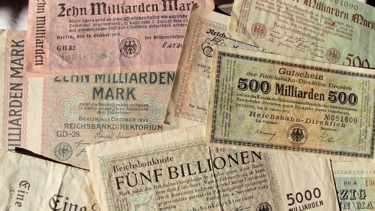 Banknoten der Reichsbank