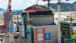 Ein Sicherheitsbehälter im Kernkraftwerk Taishan in der südchinesischen Provinz Guangdong während des Baus 2012. | Bild:picture alliance / dpa | Zhou Huadong