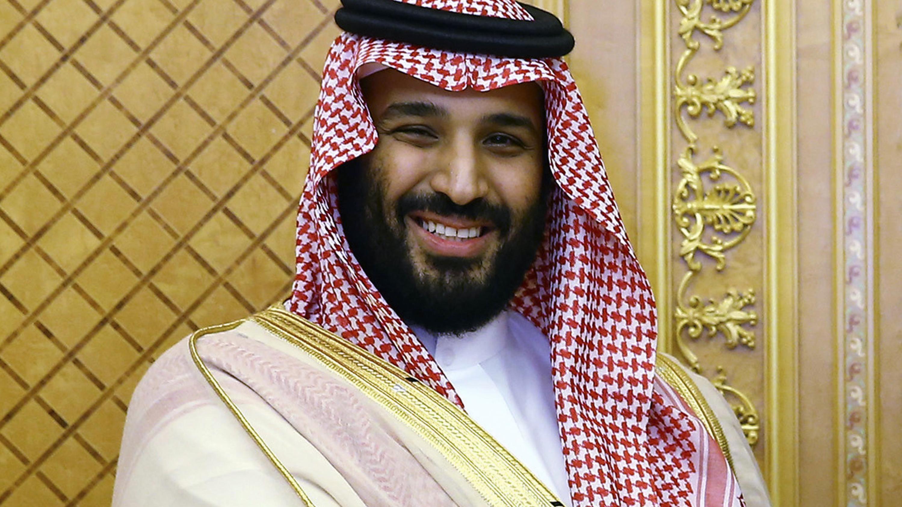 Saudischer Kronprinz:  Mohammed bin Salman