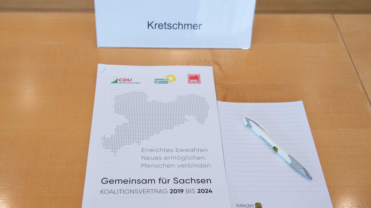 Sachsen: Koalitionsvertrag