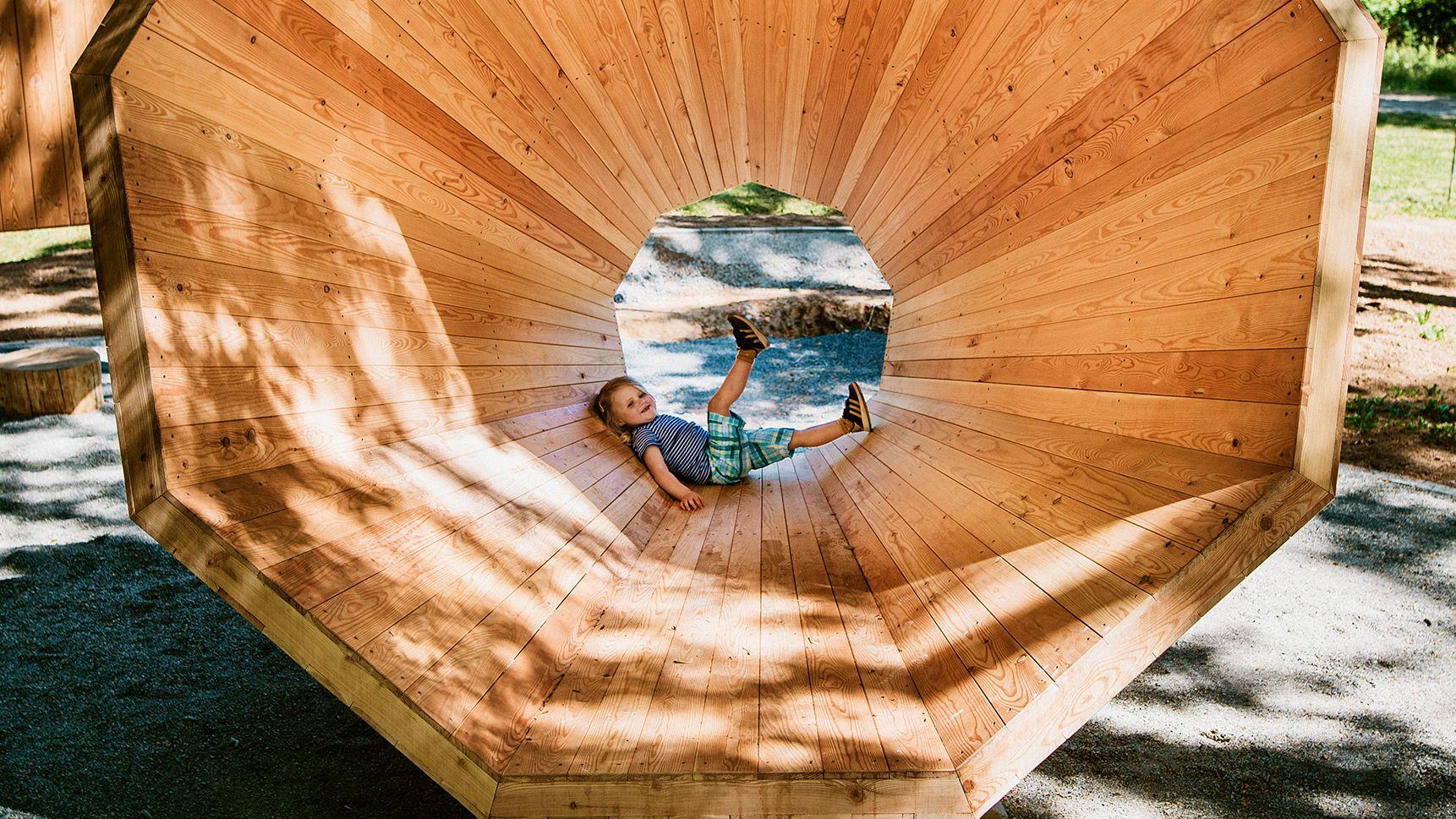 Naturklangverstärker auf dem Smart Pfad Odenwald