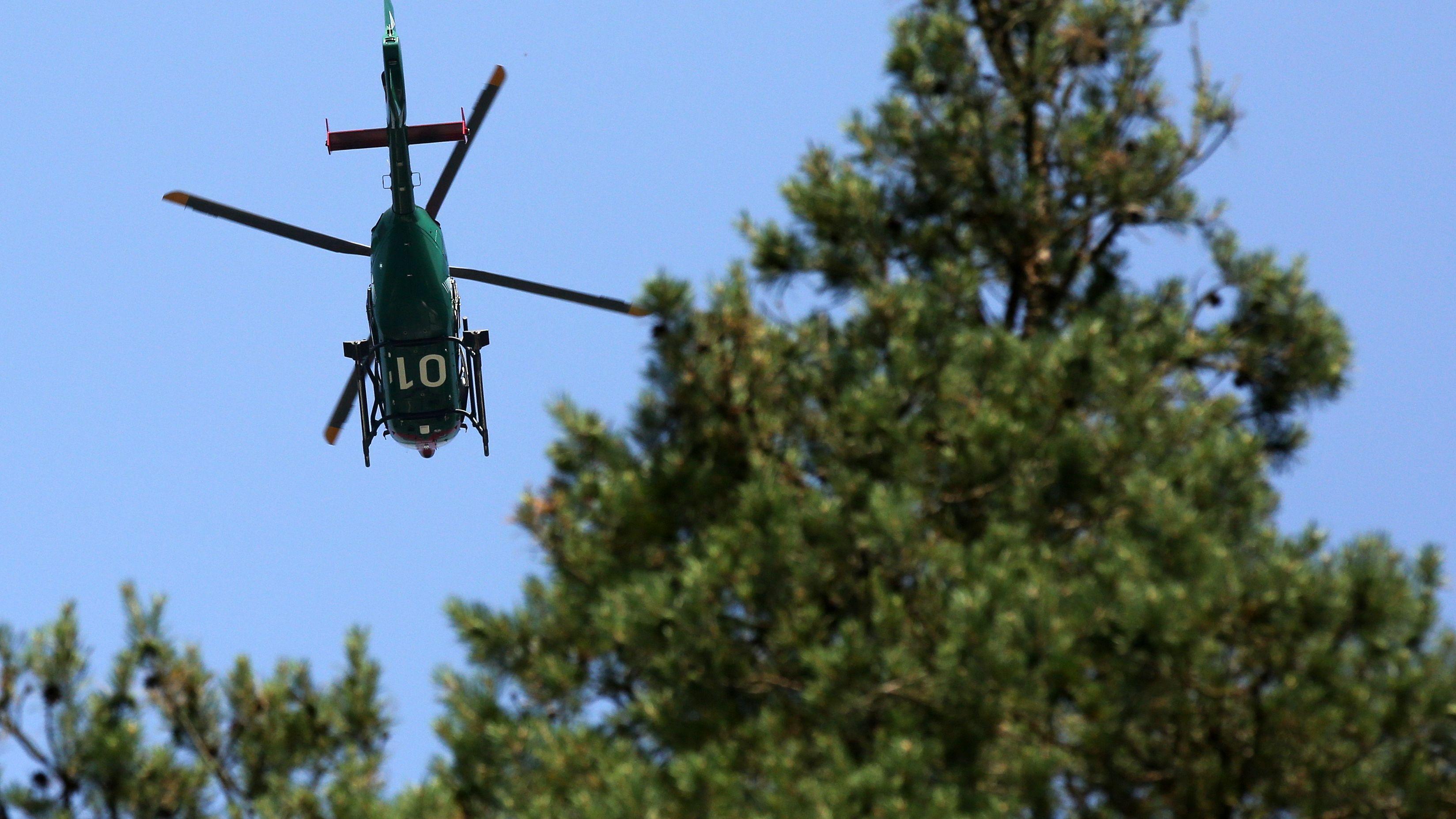 Symbolbild Hubschraubereinsatz
