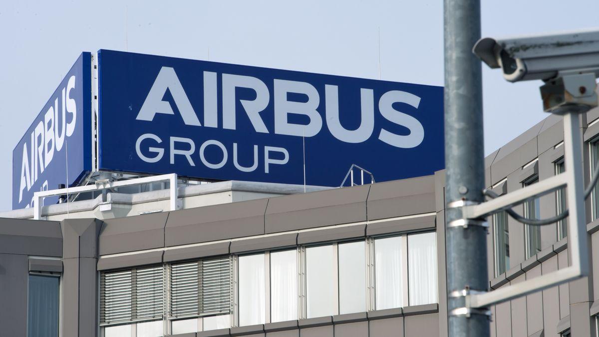 Airbus-Gebäude in Ottobrunn bei München