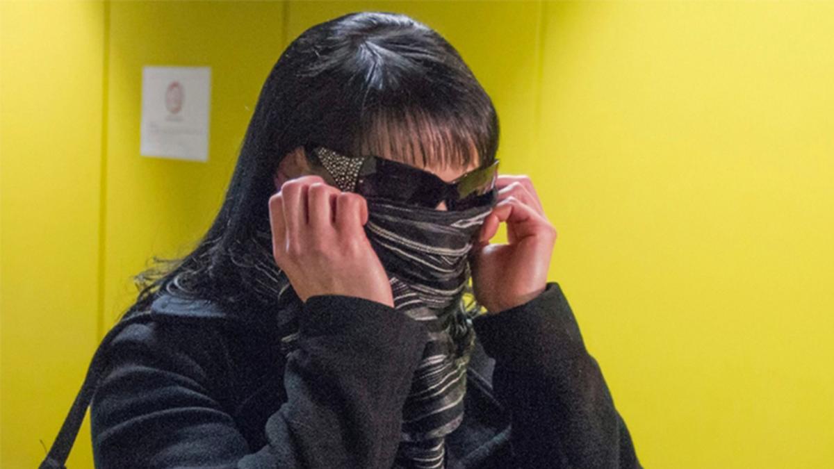 """Mandy S. 2014 als """"Szene-Zeugin"""" auf dem Weg zum NSU-Prozess"""
