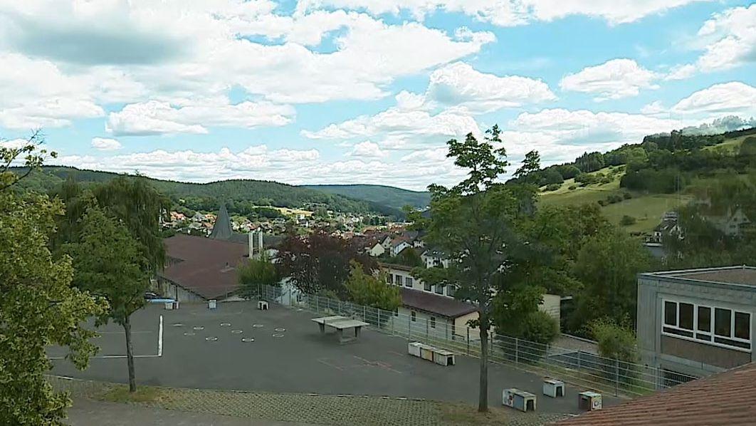 Die Mittelschule in Frammersbach