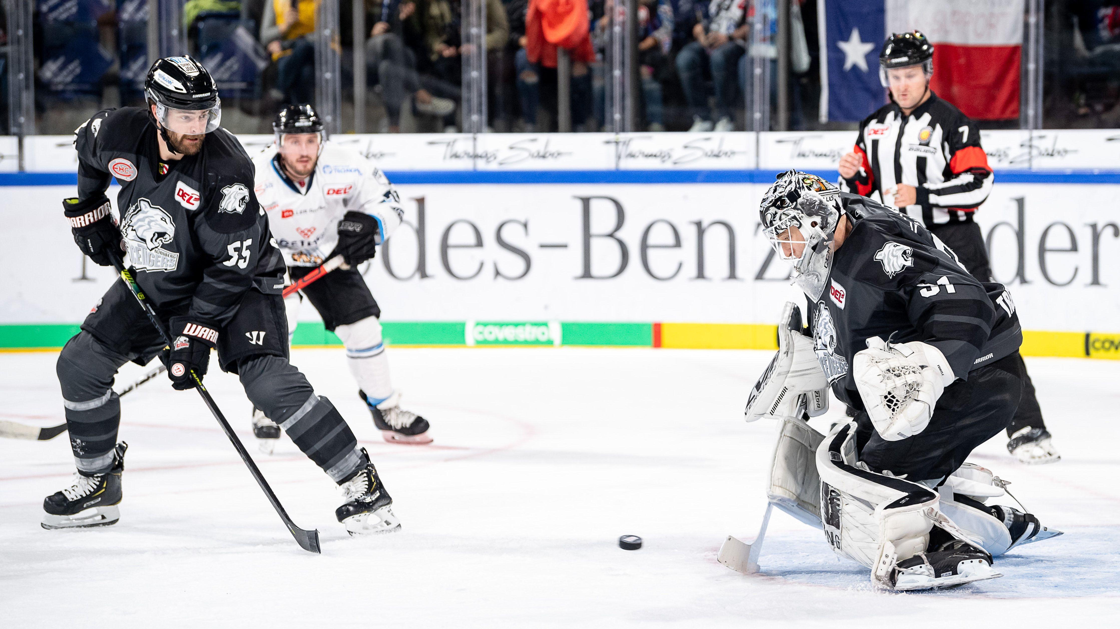 Straubing gewinnt das Derby gegen Nürnberg