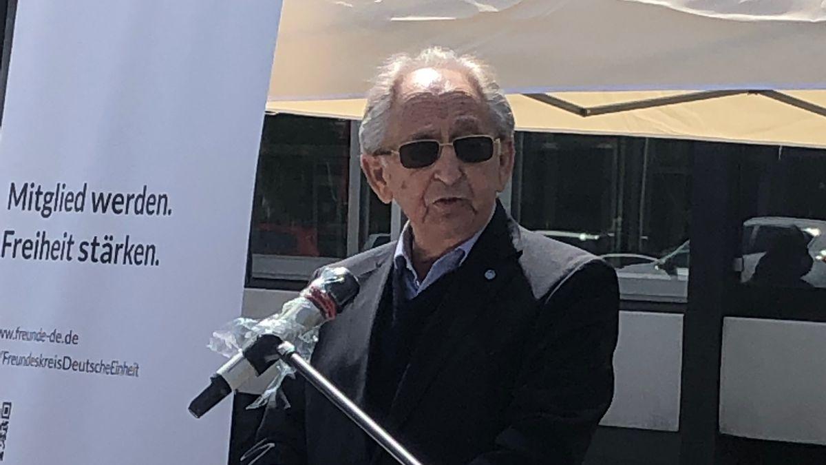 Abba Naor ist Überlebender des KZ Dachau.