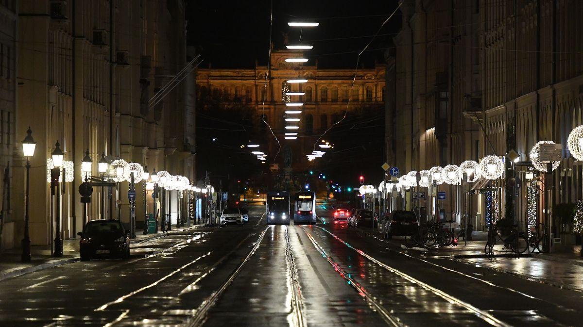 München im Lockdown: Ab 21 Uhr gilt eine Ausgangssperre.