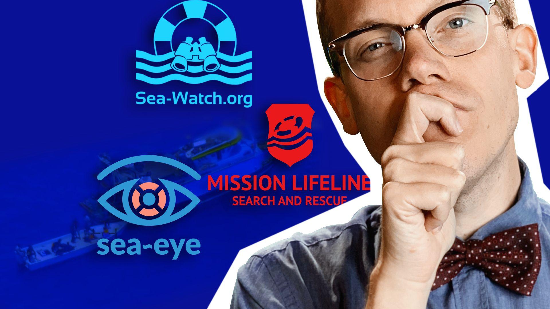 Seenotrettung im Mittelmeer: Schlepper oder Retter?