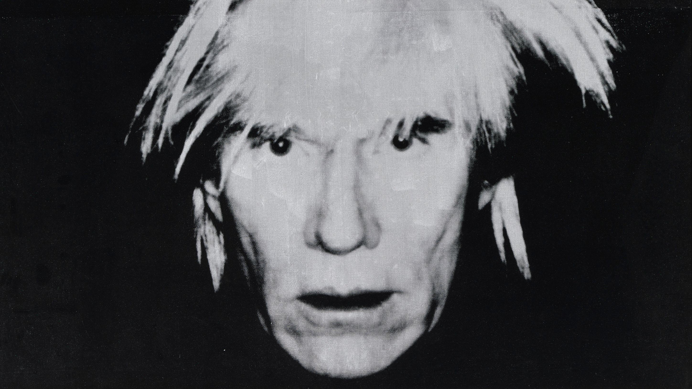 Andy Warhol: Selbstporträt, 1986