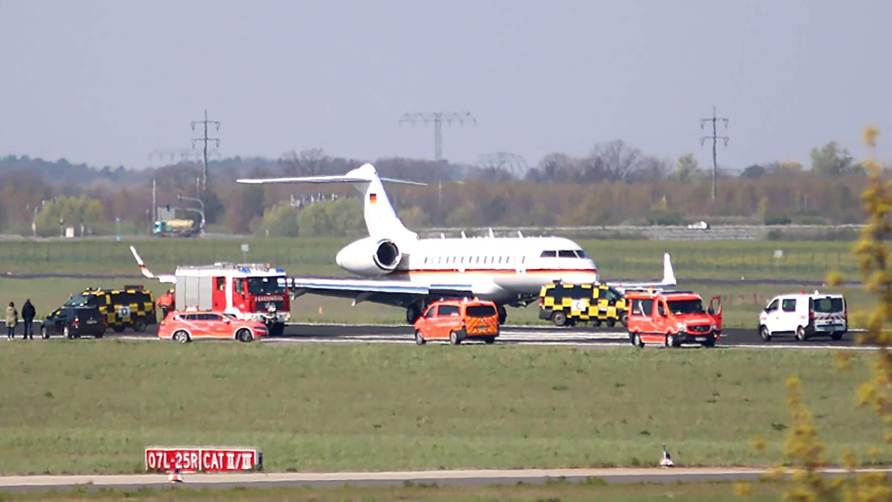 Beinahe-Unglück: Zwischenfall mit Regierungsflieger in Berlin