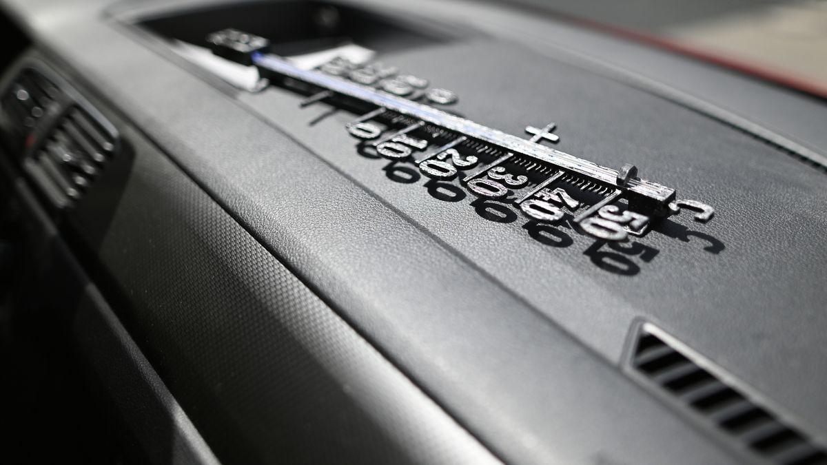 Hitze im Auto (Symbolbild)