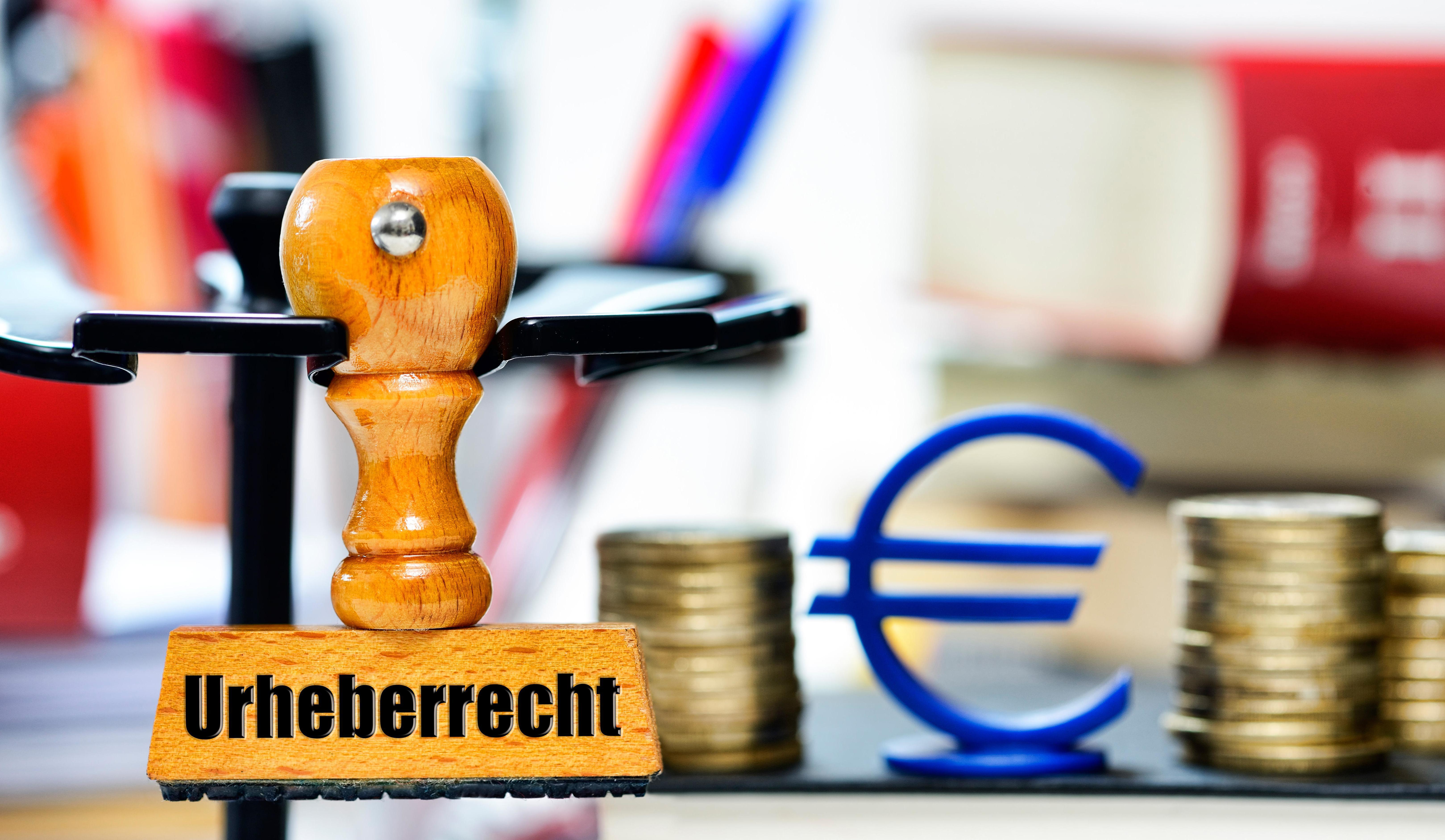 """Stempel """"Urheberrecht"""""""