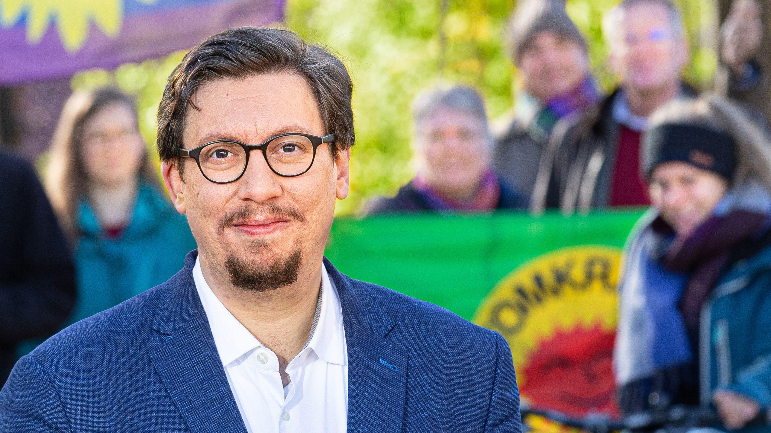 Stefan Christoph war OB-Kandidat der Grünen.