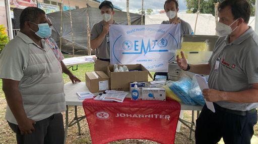 Einsatz der Johanniter-Unfallhilfe in Papua Neuguinea