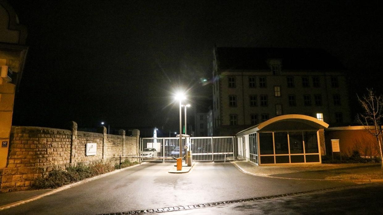 Gebäude Bereitschaftspolizei Würzburg