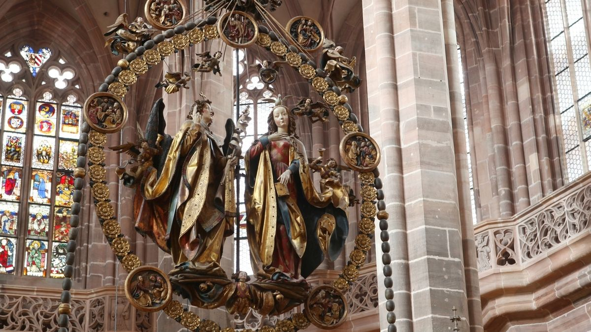 "Engelsgruß"" in St. Lorenz in Nürnberg"