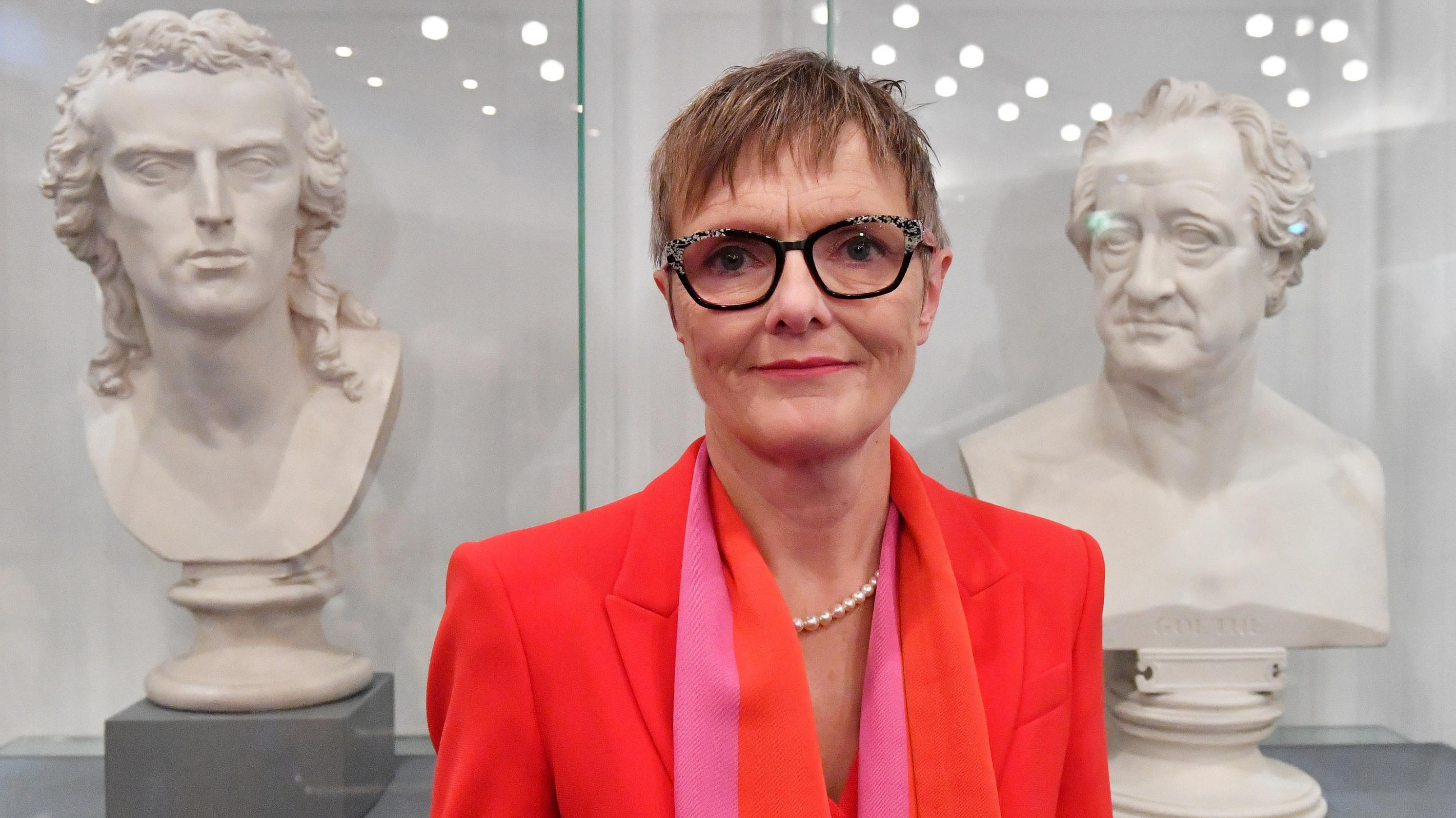 Ulrike Lorenz, die neue Direktorin der Weimarer Klassikstiftung