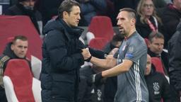 Niko Kovac (l.) und Franck Ribéry   Bild:picture alliance/dpa
