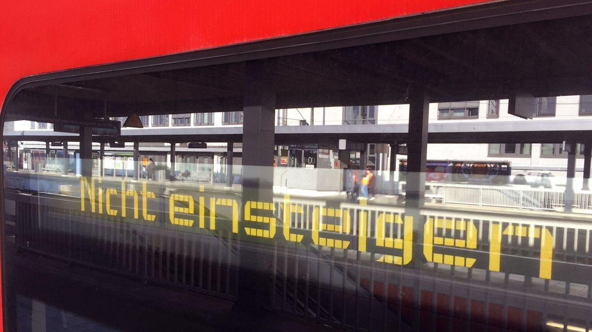 Zugausfälle auf Münchner Stammstrecke.
