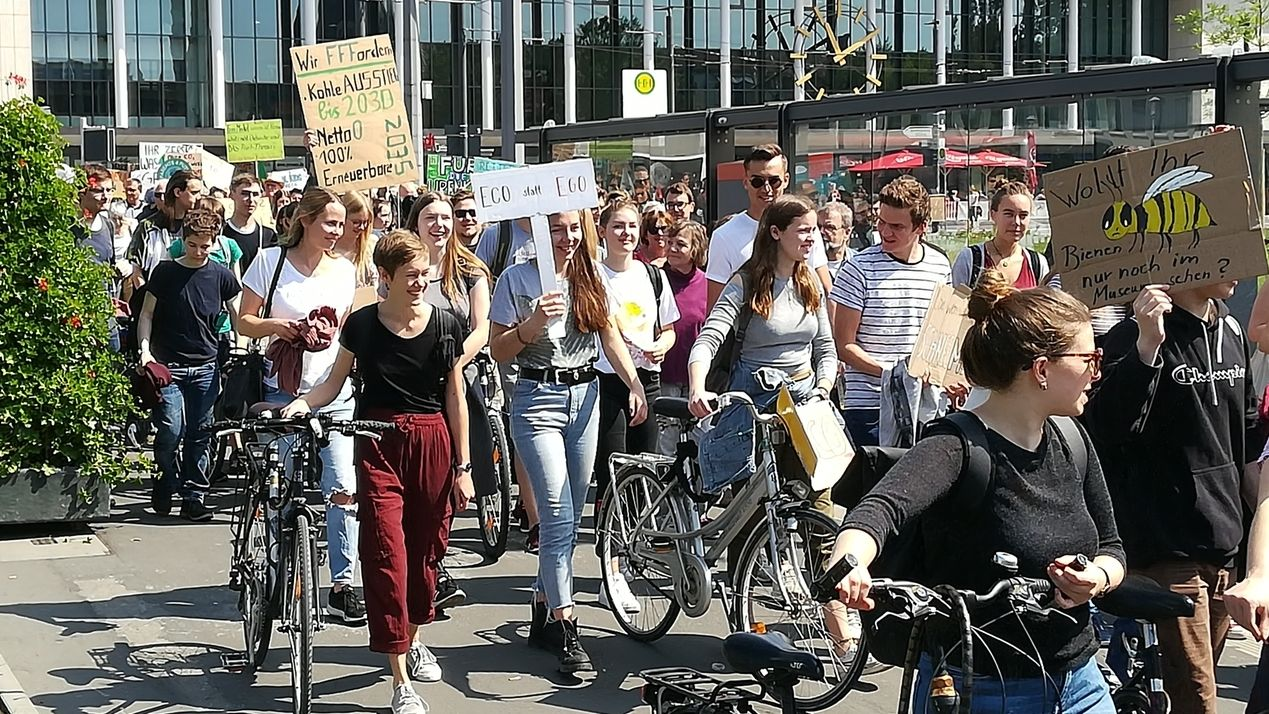 Fridays for Future - Demo in Würzburg
