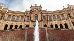 Bayerischer Landtag in München im Frühjahr.   Bild:BR/Herbert Ebner