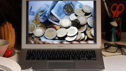 Euros auf Computer-Bildschirm | Bild:Picture Alliance