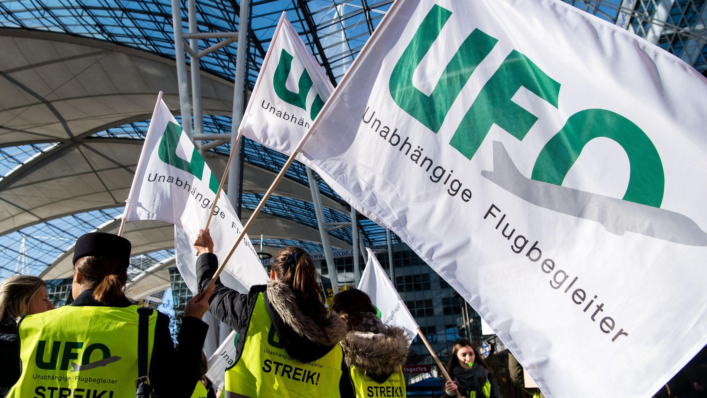 Lufthansa zu Mediation mit Gewerkschaft UFO bereit