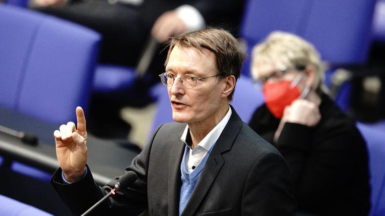 SPD-Gesundheitsexperte Karl Lauterbach   Bild:picture alliance/dpa   Kay Nietfeld