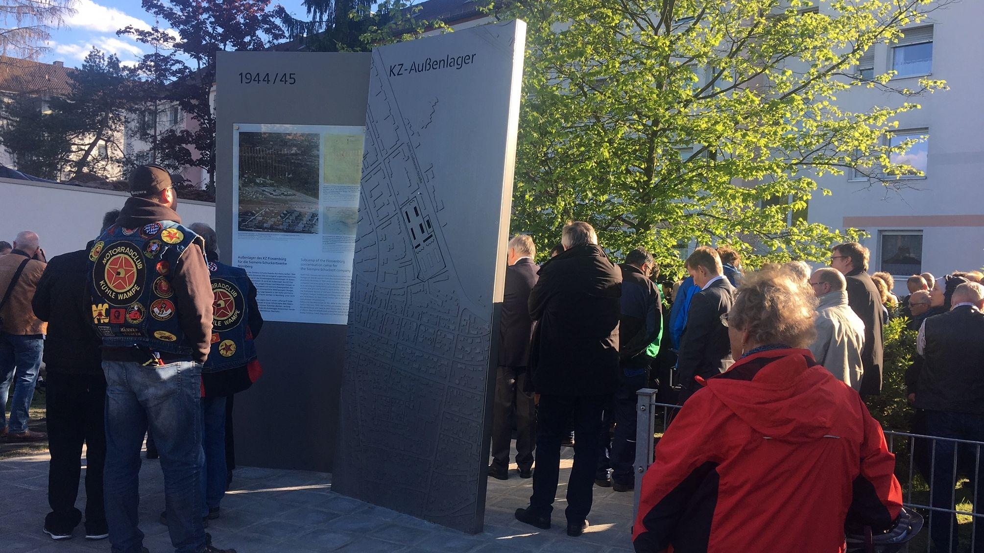 Gedenk- und Informationstafeln zum ehemaligen KZ-Außenlager