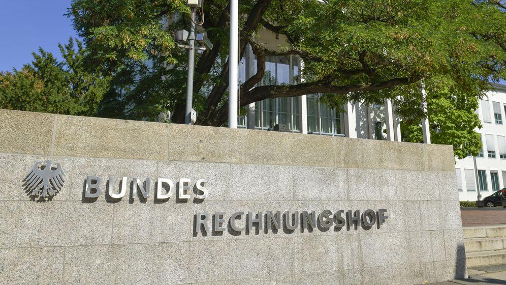 Bundesrechnungshof   Bild:picture-alliance/dpa