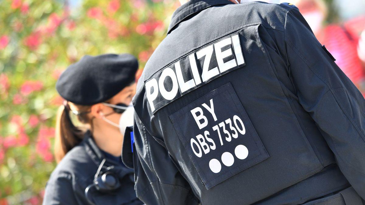 Polizeibeamte im Einsatz